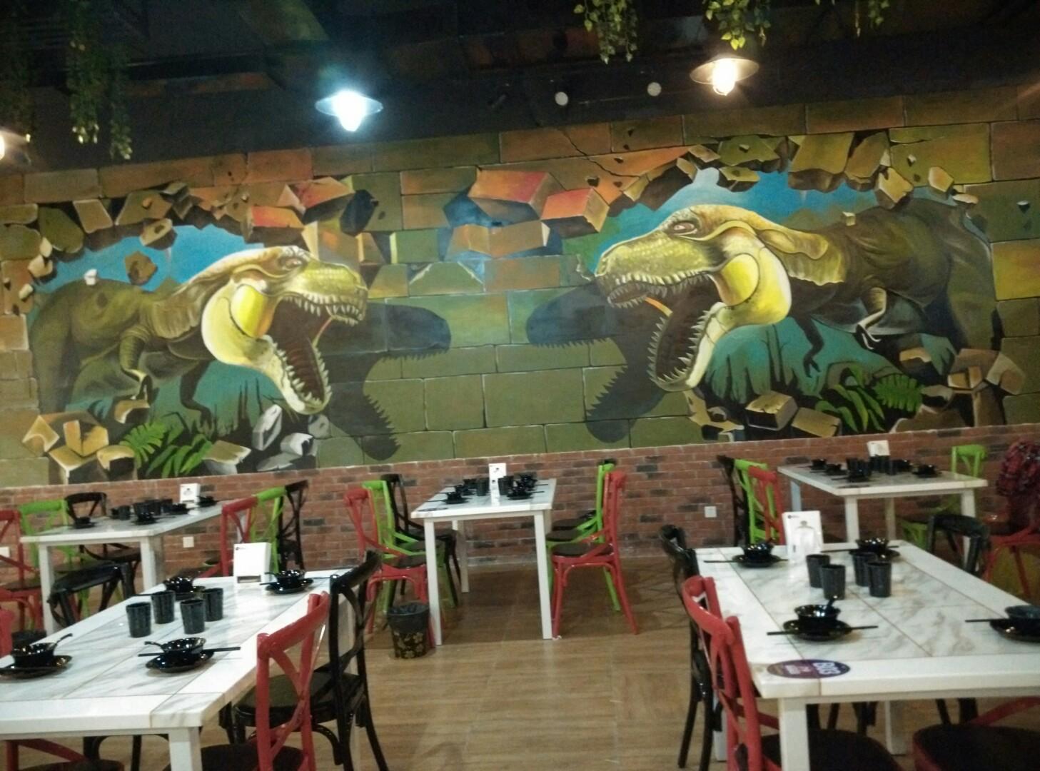 新余手绘涂鸦墙,新余手绘墙画,新余3d立体墙绘,新余墙绘3d立体画