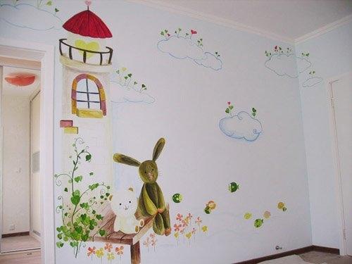 新余农村外墙绘画,新余涂鸦墙面,新余彩绘墙手绘,新余装饰画手绘