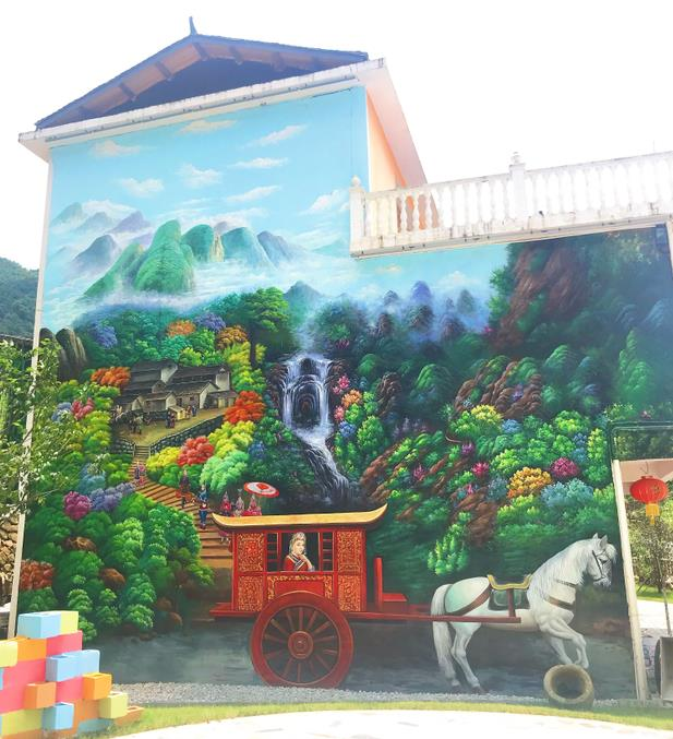 新余喷绘墙体广告公司,新余室内手绘,新余幼儿园彩绘墙